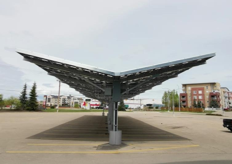 Solar Panel Carport - Prairie Sun Solar