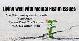 Join us to learn more about Living Well with Mental Health Issues