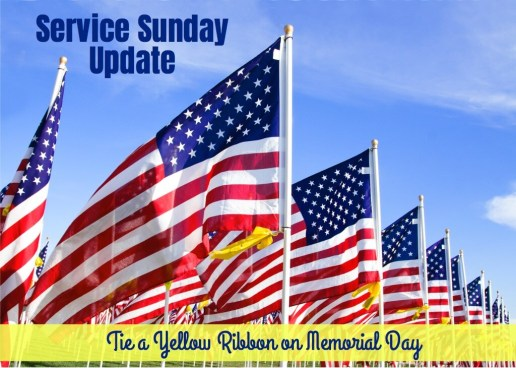 Tie Yellow Ribbon Memorial Day