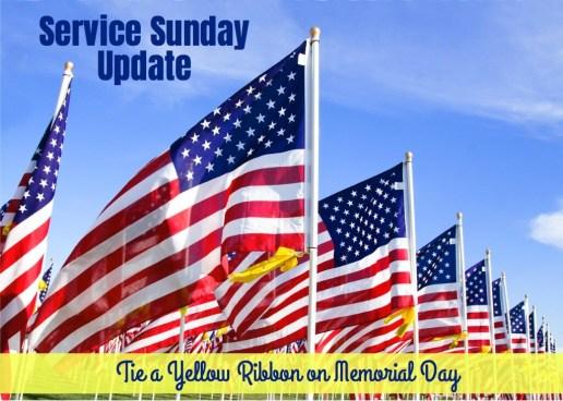 Tie Yellow Ribbon Memorial Day