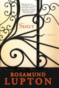 Sister: A Novel by Rosamund Lupton. Prairie Wife Review