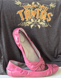 TX breast cancer shoes
