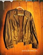 TX black jacket