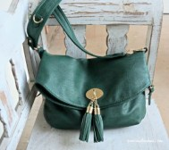 TX green purse
