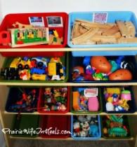 toy buckets