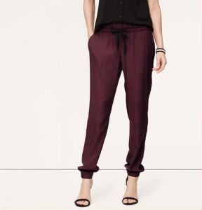 Drapy Ankle Pants Loft