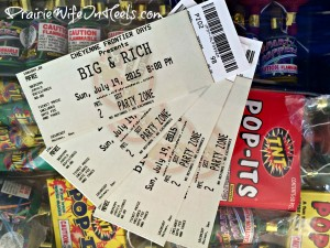 tickets giveaway