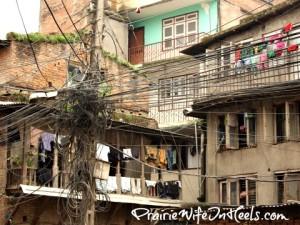 nepal street shot