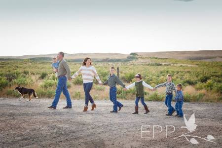 prairie wife family