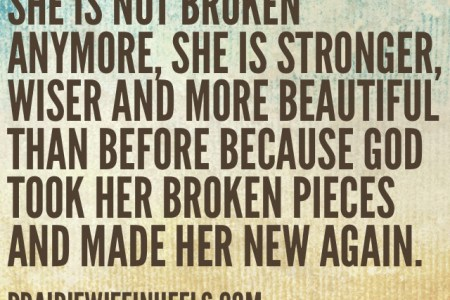 she is not broken