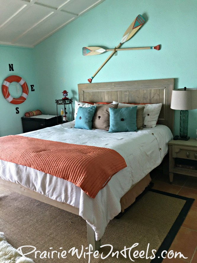 texas coast rental bedroom