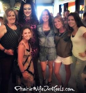 at drag show