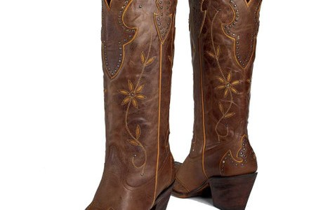 Mulan Tobacco Cowgirl Boots