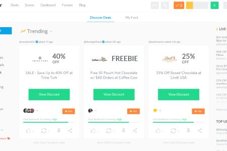 dealspotr home page