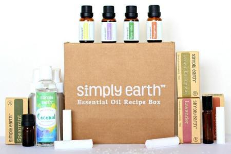 simply earth recipe box