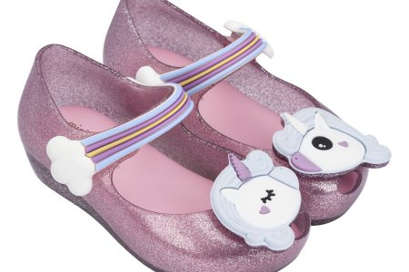 unicorn shoes from The Picket Fence