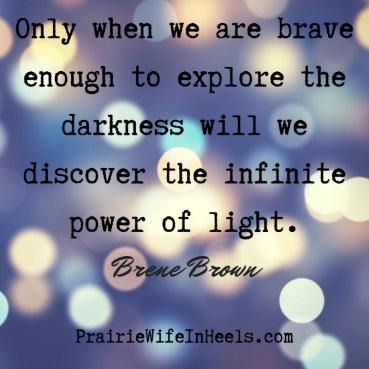 explore the darkness