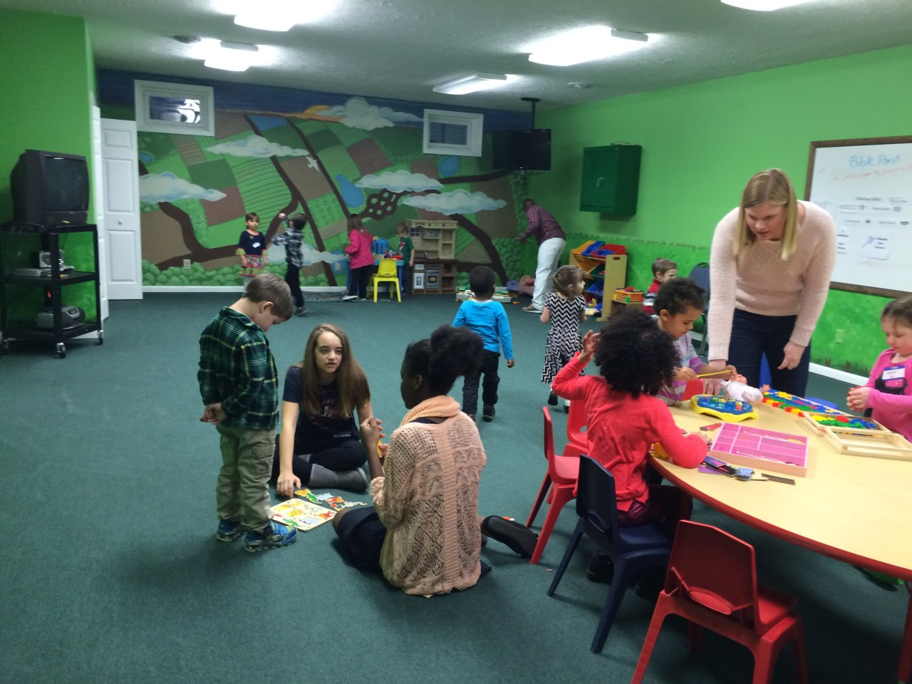Praise Fellowship Church-Champions Kids Ministry - Russell, PA