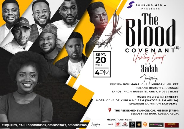 The Blood Covenant (EP) Unveiling Concert with Yadah