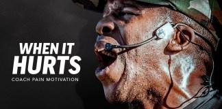 """""""When It Hurts"""" – Inspiring Motivational Speech Video"""