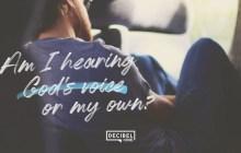 [SERMON] Am I hearing God's voice or my own? – Joseph Prince