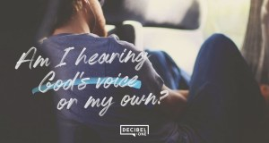 """Am I hearing God's voice or my own?"" – Joseph Prince"