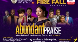 El Grace Gearing Up For Album Release & Live Recording Concert Abundant Praise