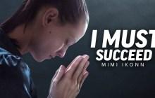 "PraisejamzTV: ""I Must Succeed"" – Inspiring Motivational Speech Video"