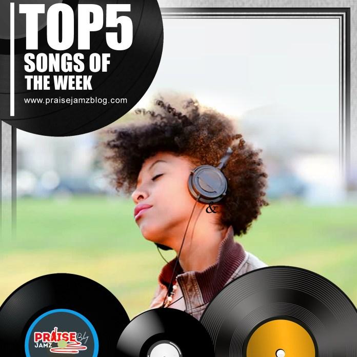 Top5 Hottest Gospel Songs Currently Trending From Last Week