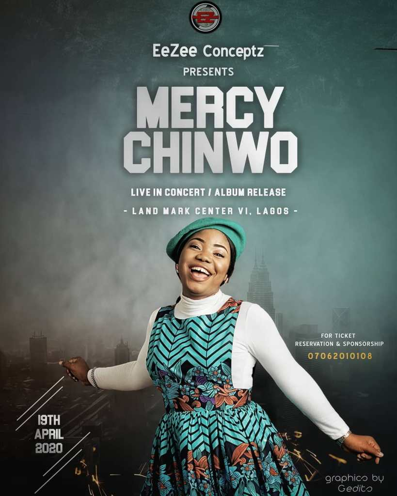 PLAN TO ATTEND: Mercy Chinwo Gears Up For New Album Release And Live Concert