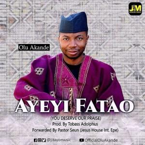 [MUSIC] Olu Akande - Ayeyi Fatao