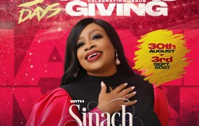 Sinach & Friends Preps Live Concert In Lagos tagged