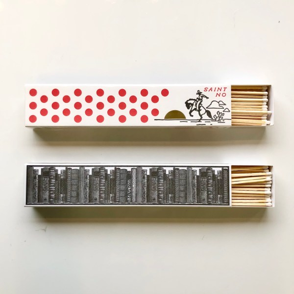 Rodeo and library long matchbox