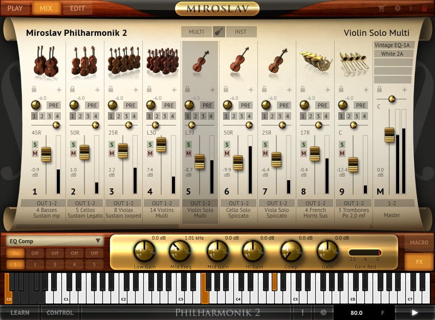 Philharmonic 2 - MIX SCREEN
