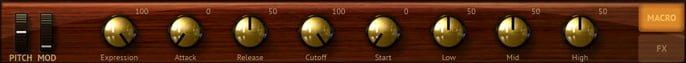 Ohilharmonik 2 - MACRO CONTROLS