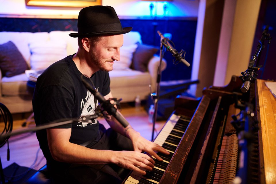 Jerimiah Fraites At The Firewood Piano