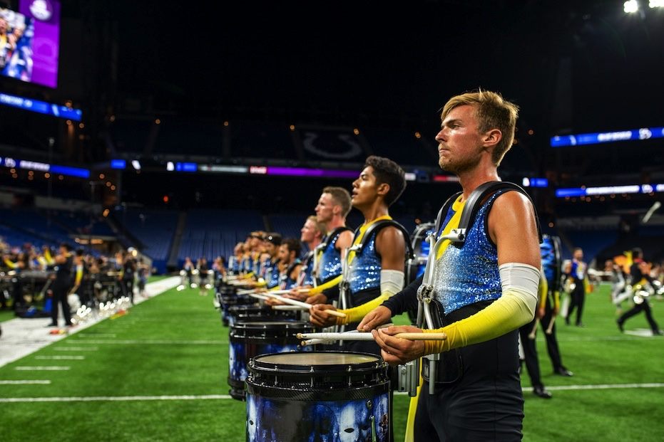 Drumline On The Field