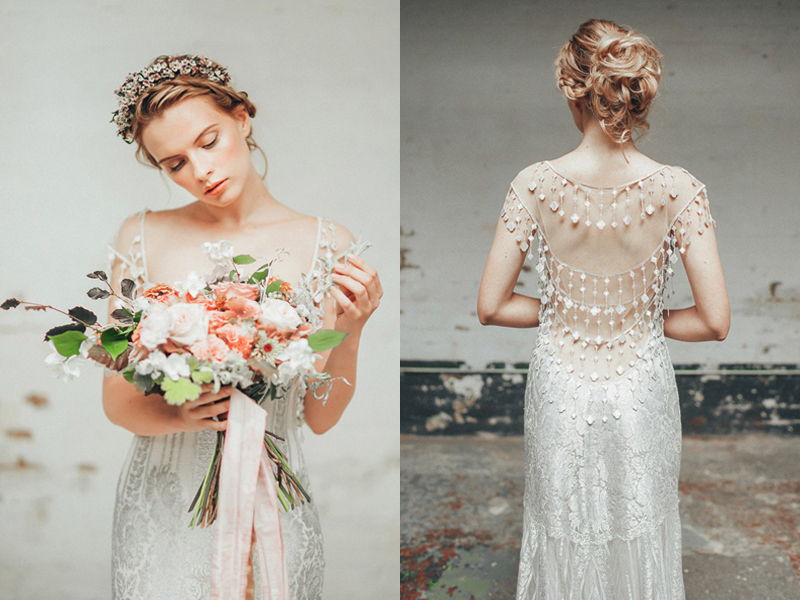 30 Jaw-Droppingly Beautiful Beaded Wedding Dresses With