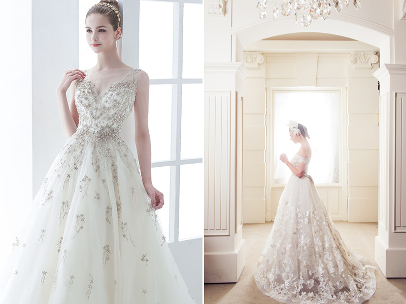 A Touch Of Sparkle! 30 Beautiful Wedding Dresses With