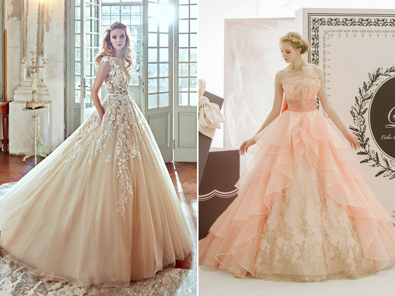 Peach Is The New Pink! 32 Sweet And Romantic Peach Gowns