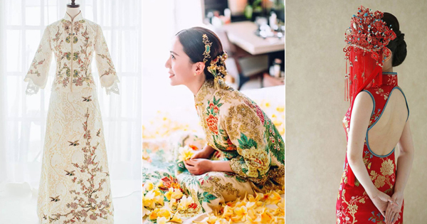 18 Beautiful Traditional Chinese Wedding Gowns With A