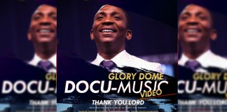 AUDIO + VIDEO: Dr. Paul Enenche - Thank You Lord