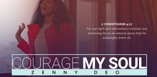 Download: Zenny DEO - Courage My Soul