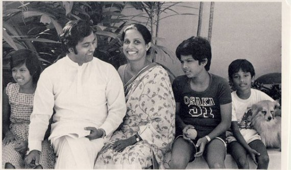 Gamini Dissanayake family