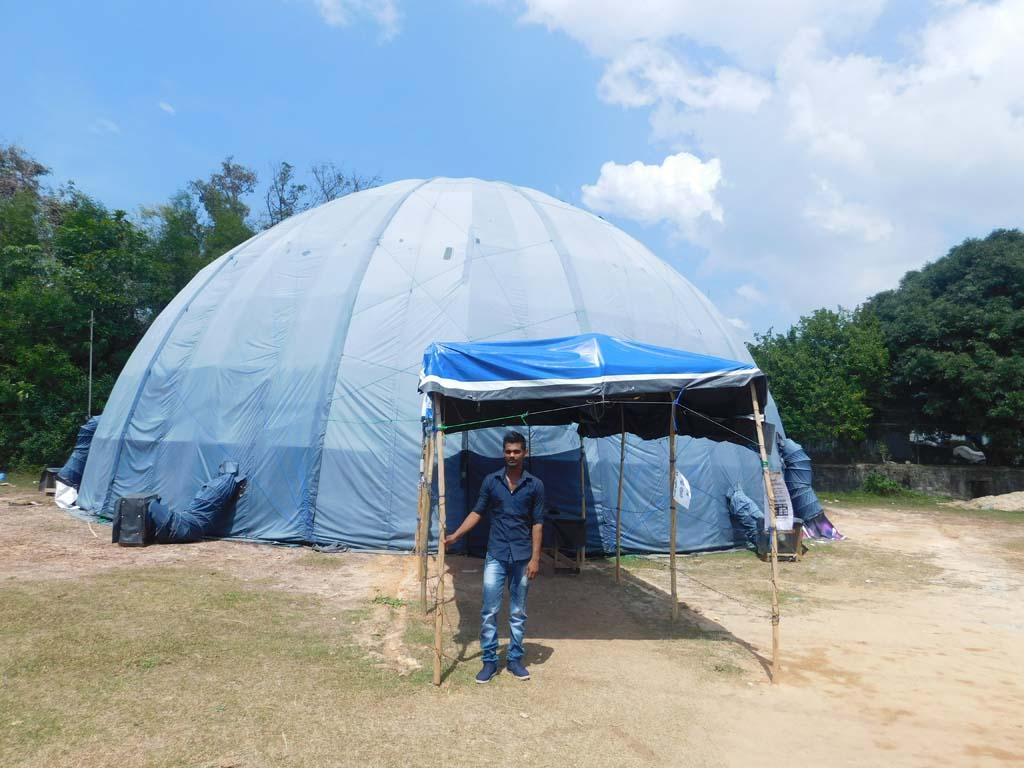 mobile planetarium