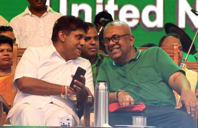 Sajith and Mangala