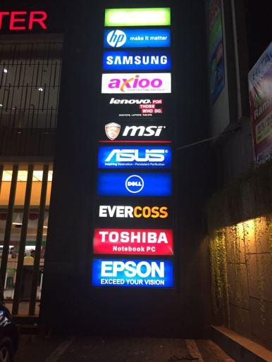 advertising neonbox