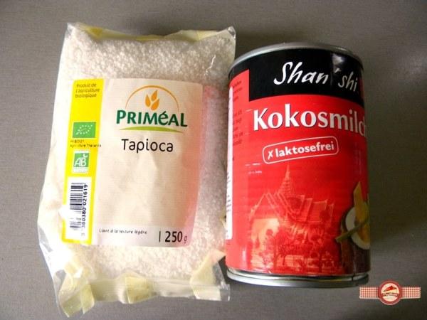 budinca tapioca