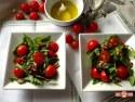 Salata de rucola cu rosii cherry