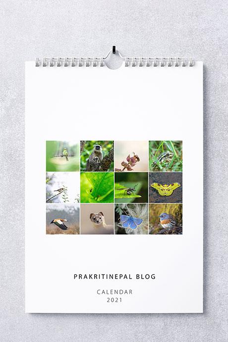 Prakritinepal Blog Calendar 2021
